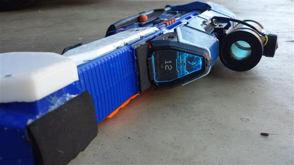 Cool custom nerf gun.