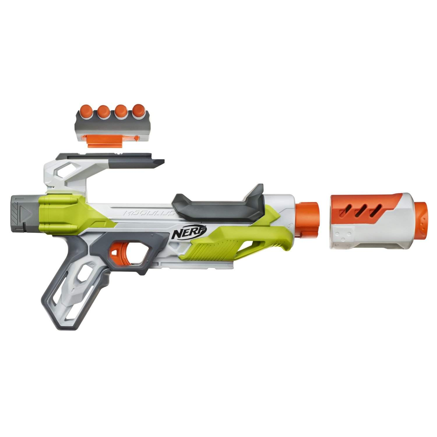 Nerf Modulus IonFire Blaster is one of the best blasters that you can  purchase in the modern times. This sharpfire has a similar design like the  previous ...